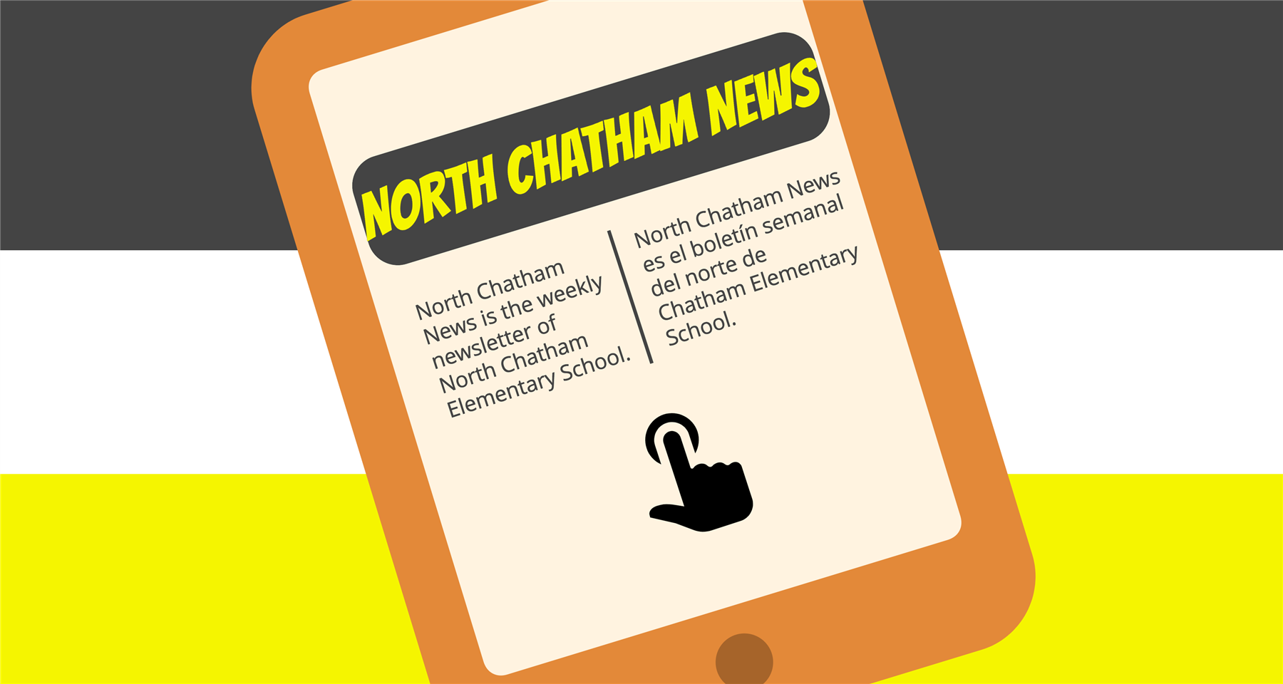 This is the weekly newsletter of North Chatham Elementary School